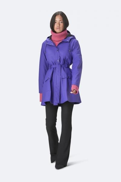 Curve Jacket, 蓝紫色