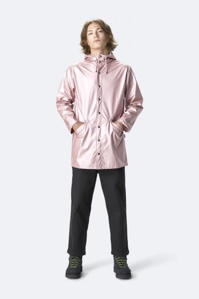 Long Jacket, 金属粉红色
