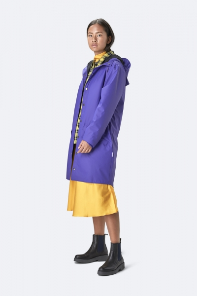 Long Jacket, 蓝紫色