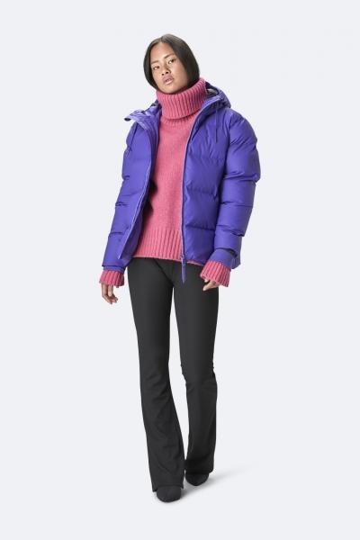 Puffer Jacket, 蓝紫色