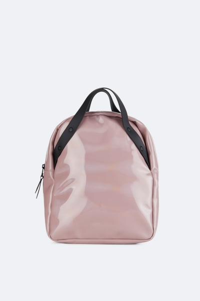 Holographic Backpack Go, 全息粉红色