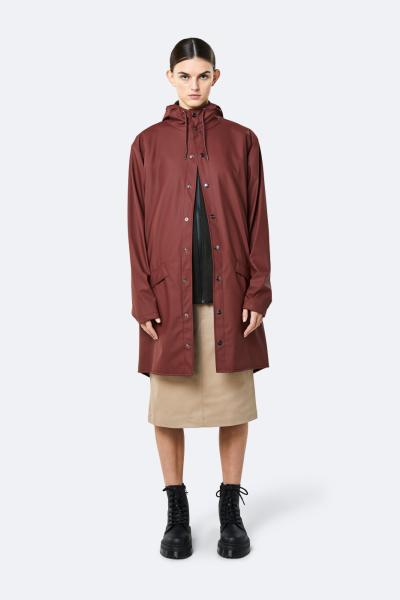 Long Jacket, 栗红色