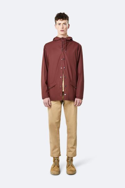 Jacket, 栗红色
