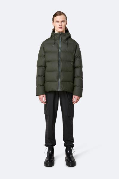 Puffer Jacket, 绿色